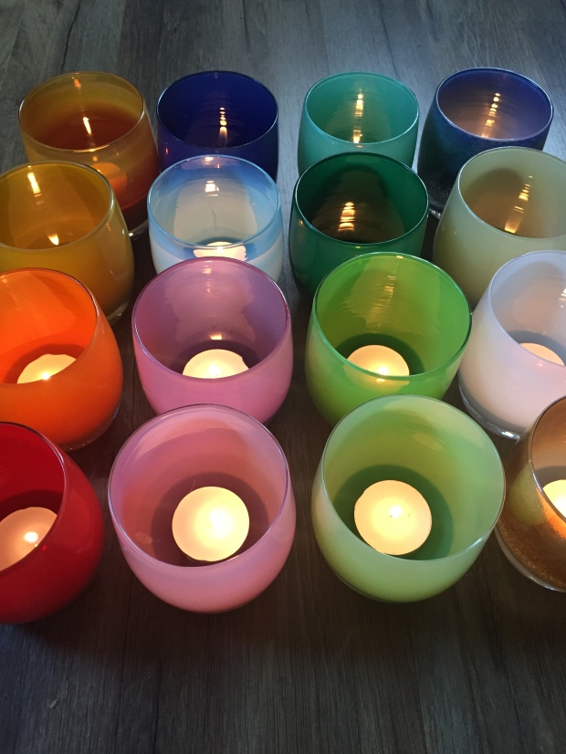 glassybaby collection