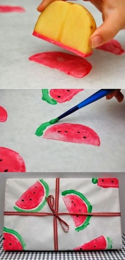 Watermelon Tea Towels