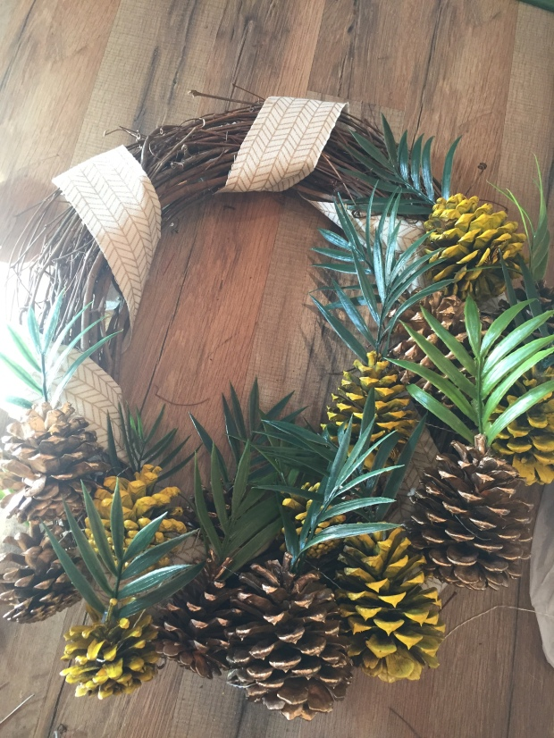 Wreath finished