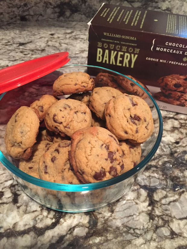 Cookies in tupperware