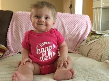 My niece, Gemma, a future KD!