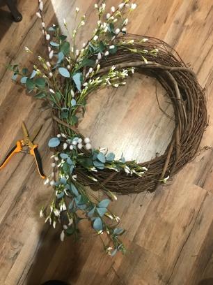 spring wreath 9