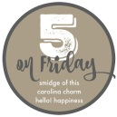 Five on Friday Link-Up Image
